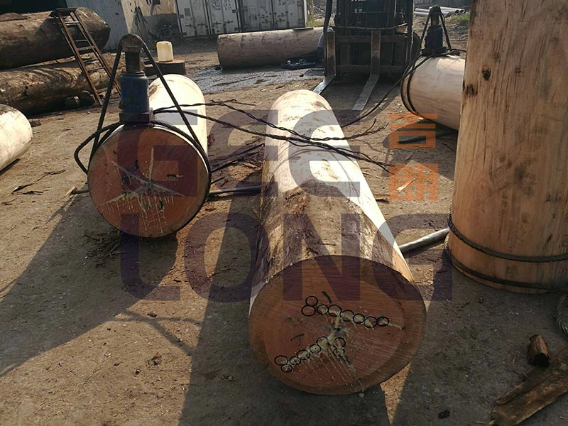 Plastic 8 Ring for Preventing Wood Log Cracking