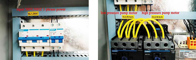 Geelong brand hot press micro computer controlling cabinet installation instructions