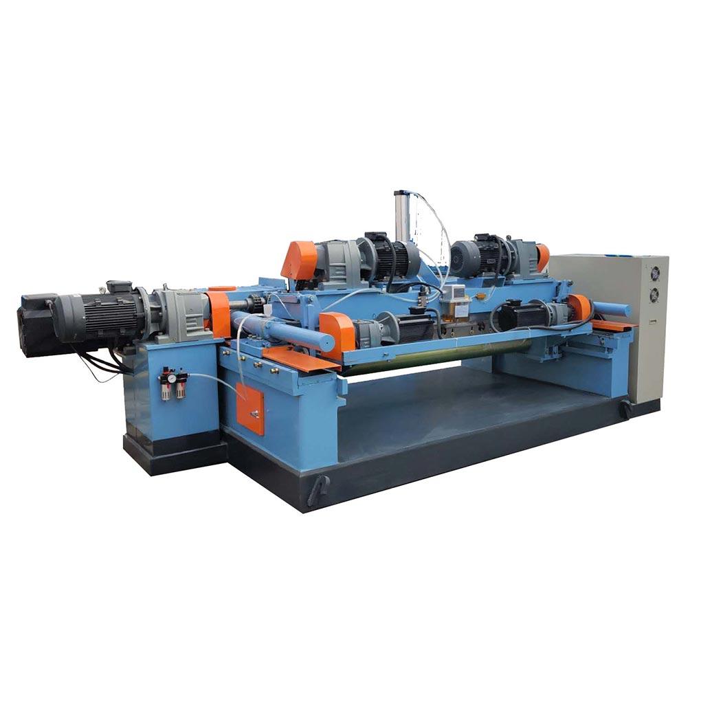 Spindleless Veneer Peeling Machine