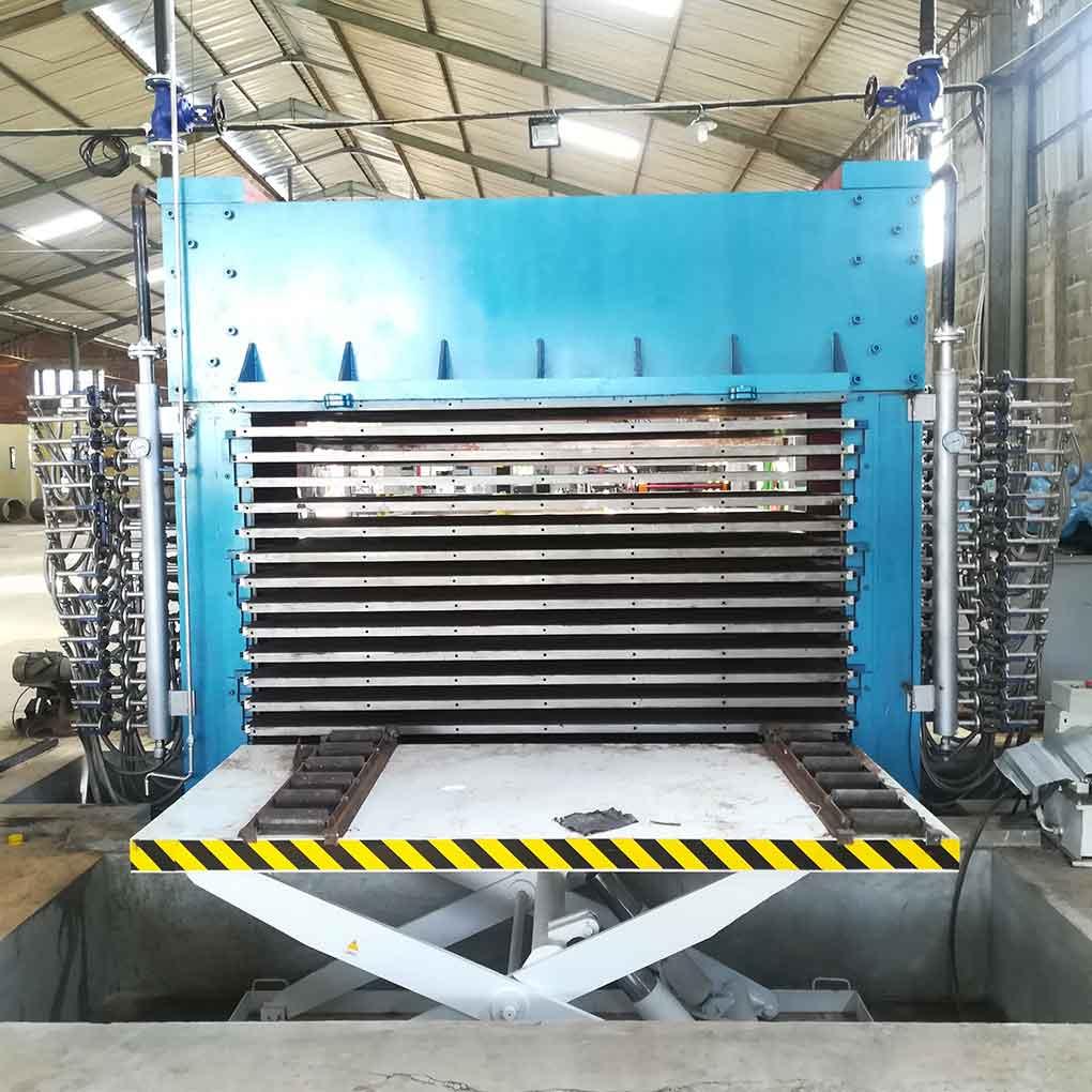 Plywood 500T 15layers Hot Press Machine